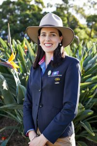 National Rural Ambassador Award NSW representative, Emily Clapham. Credit: Toby Peet, Royal Agricultural Society of NSW.