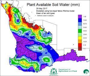 Plant Available Soil Water image. Sourced from DAFWA.
