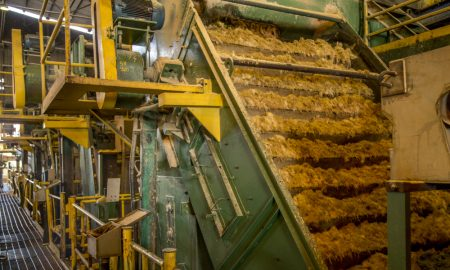 sugarcane mill stock image